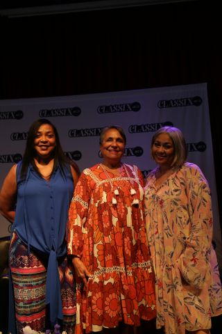 Dyana Williams, Cathy Hughes, Lady B
