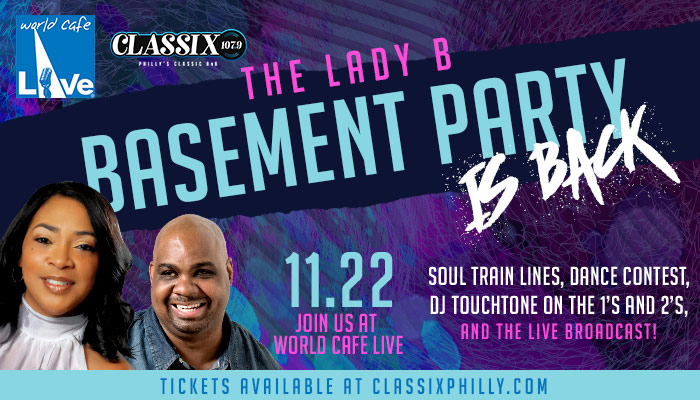 Lady B Basement Party