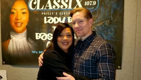 Lady B and Joseph Sikora
