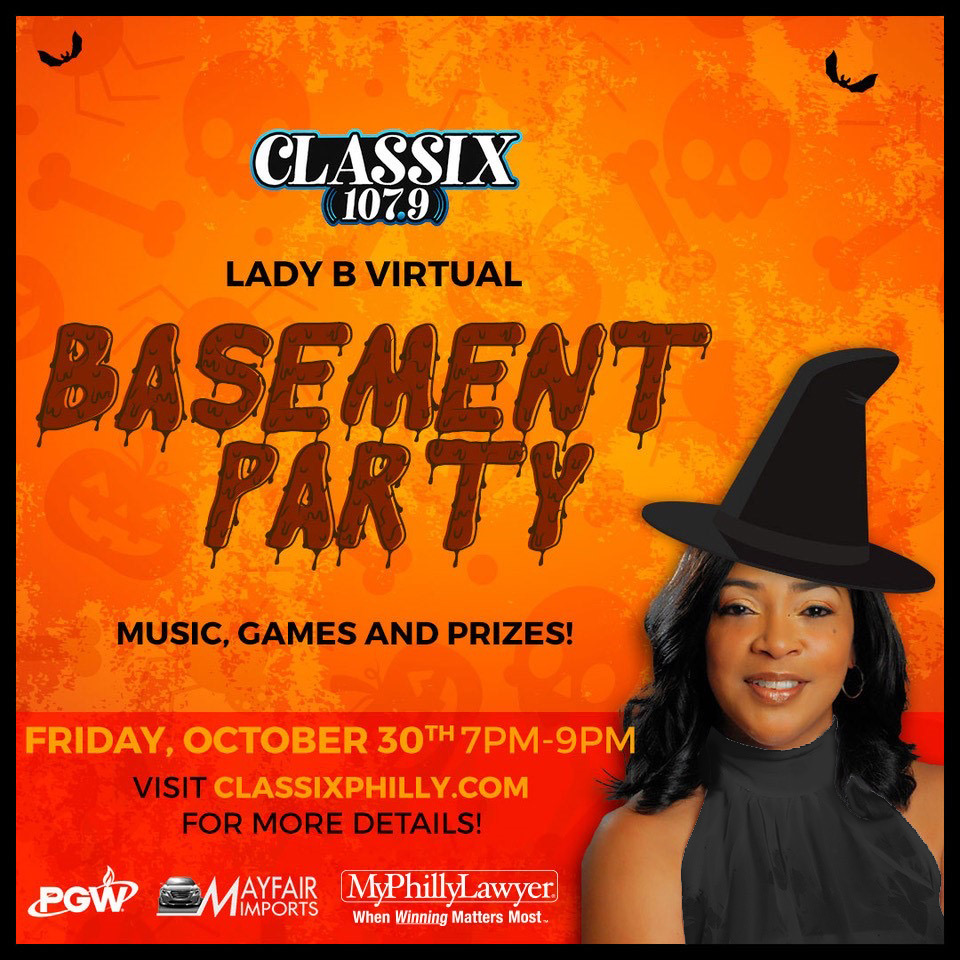Lady B Basement Party Oct.30 Classix
