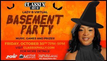 Lady B Virtual Basement Party Classix 107.9